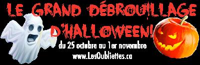 Cliquez ici pour Le Grand Débrouillage d'Halloween