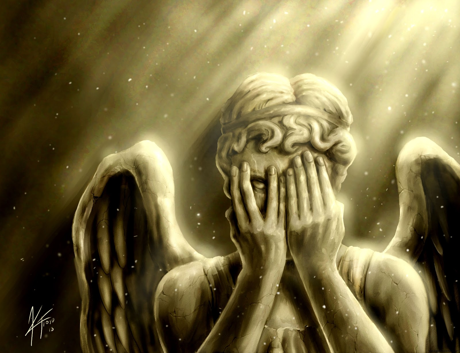 Weeping Angels Wallpaper Hd Wallpapers Plus