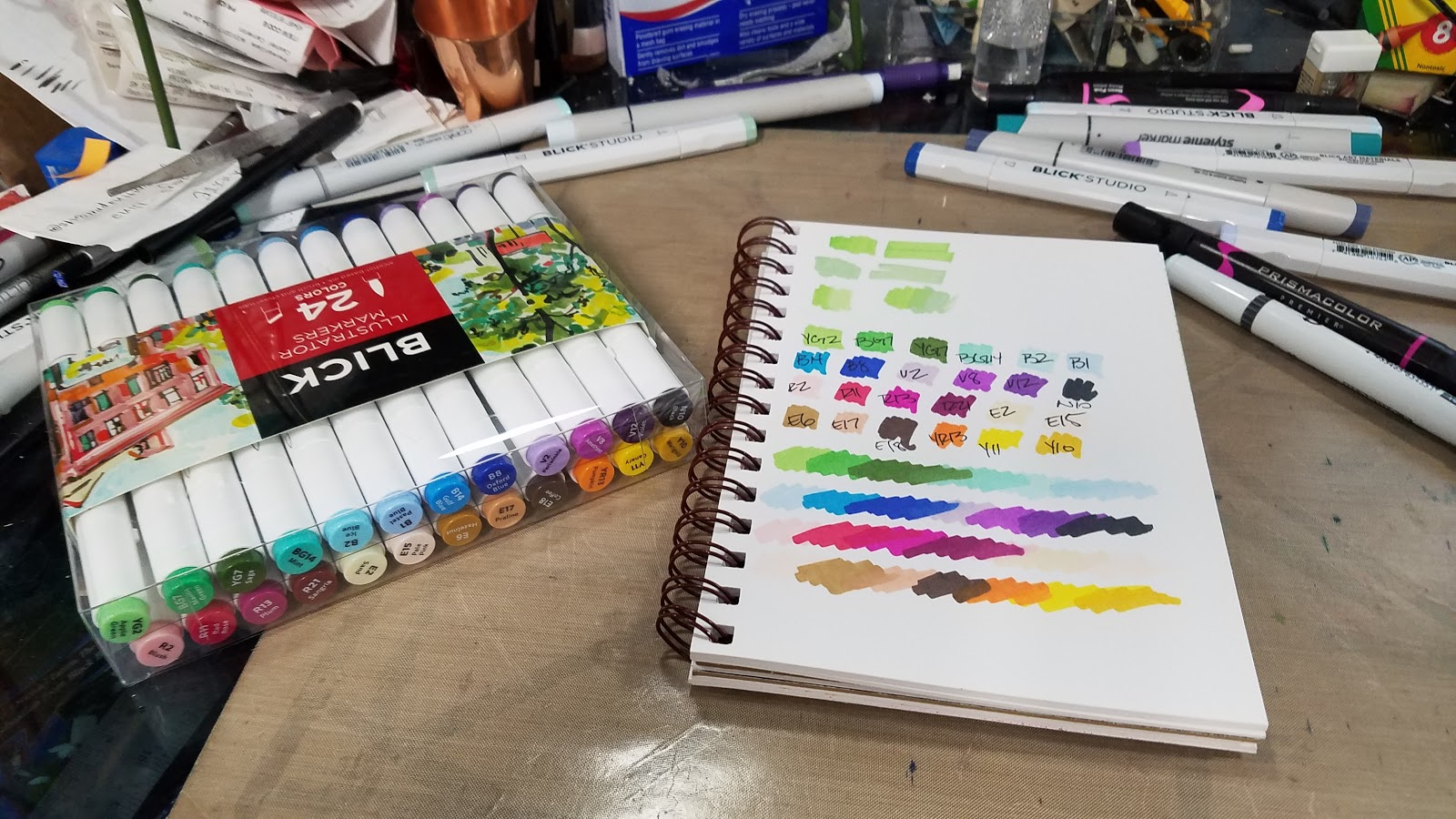 Nattosoup Studio Art And Process Blog Blick Illustrator
