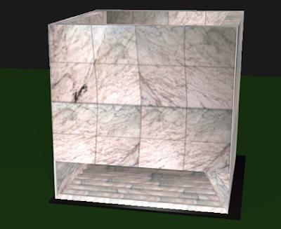 Modelo 3D do Monumento Cuneo - Autoria G.Gideoni
