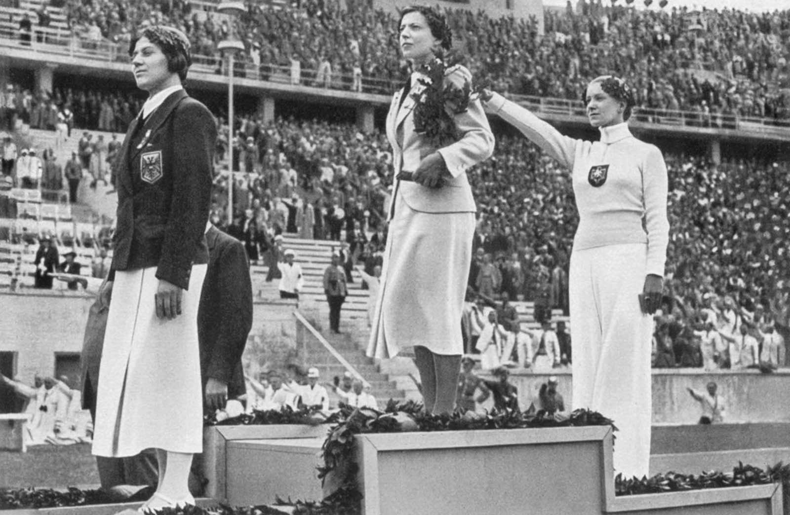 Nazi Germany's Jewish champion: the mystery of Helene Mayer endures. 1936 Berlin Olympics.
