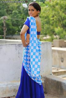 Rashmi Gautam Half Saree Images