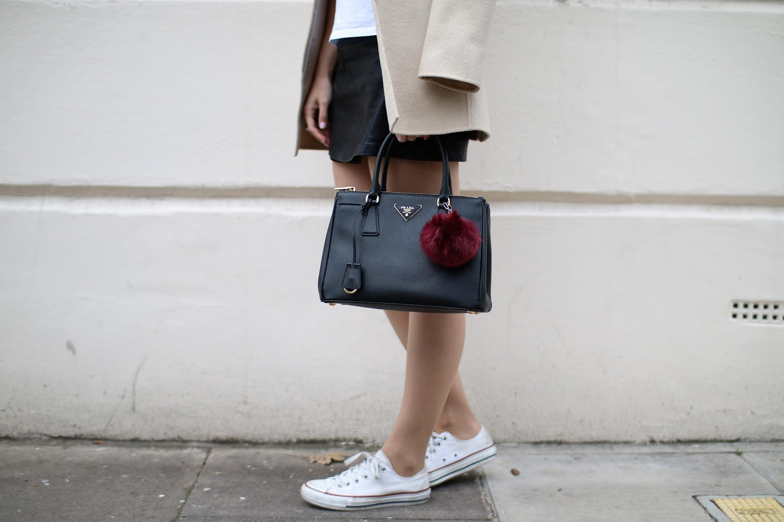 prada and converse in notting hill