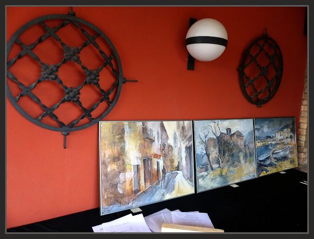 EXPOSICIÓ-PINTURA-ART AL JARDI-PINEDA DE BAGES-PINTURES-PAPER-FOTOS-PINTOR-ERNEST DESCALS
