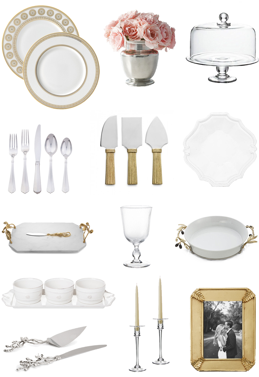 traditional wedding registry ideas