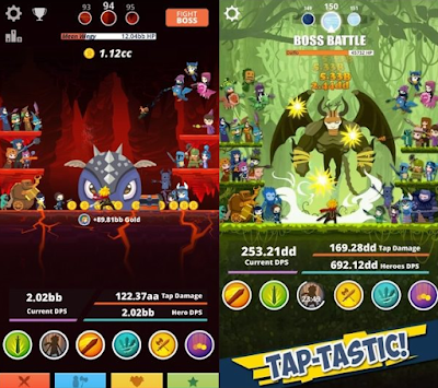 Tap Titans 2 v1.4.1 Mod Apk Android