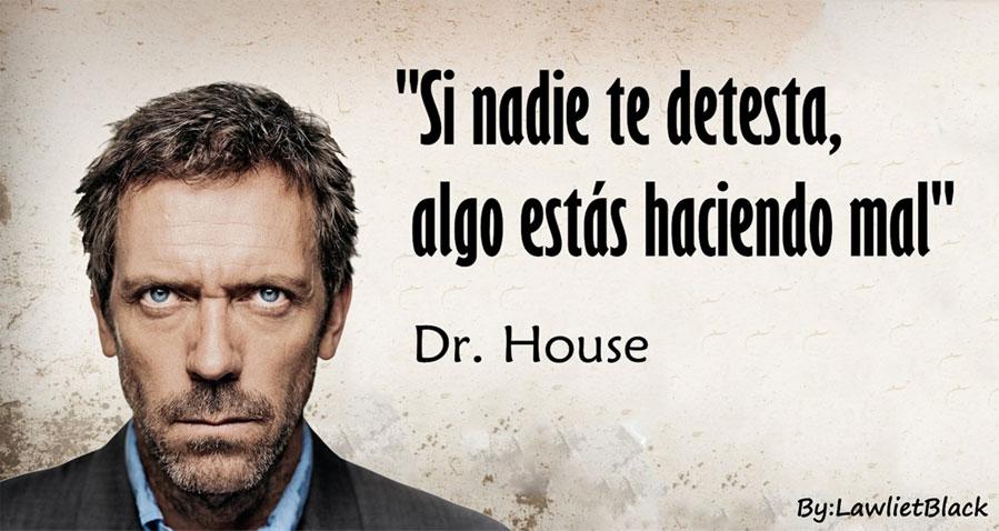 15 frases fascinantes de Dr. House