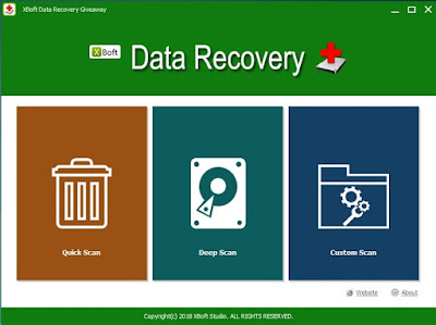 XBoft Data Recovery Software with License Serial Key