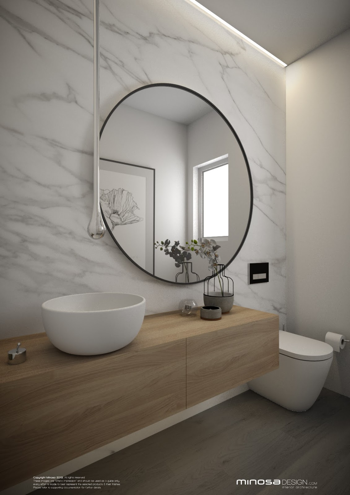 Powder Room The Wow Bathroom
