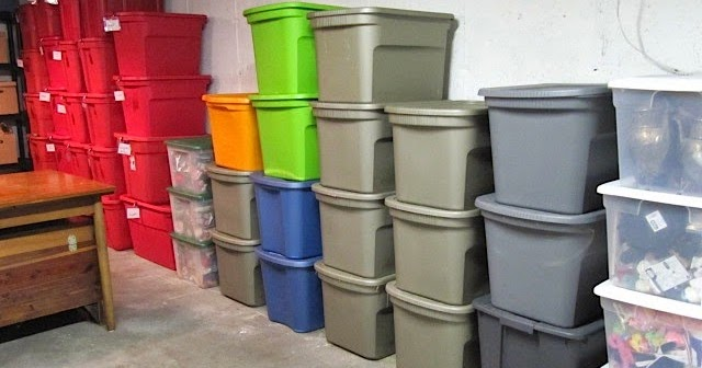 Sew Many Ways Organization Color Coded Storage Boxes