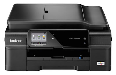 Colour Inkjet Multifunction Wireless Printer Brother DCP-J752DW Driver Downloads