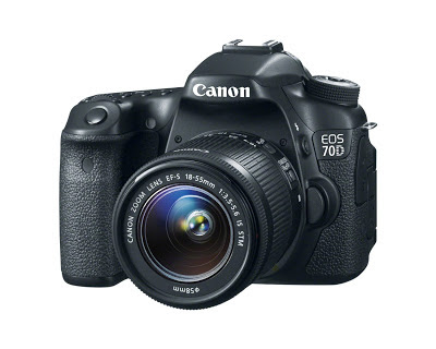 Canon EOS 70D - 18-55mm IS STM lens