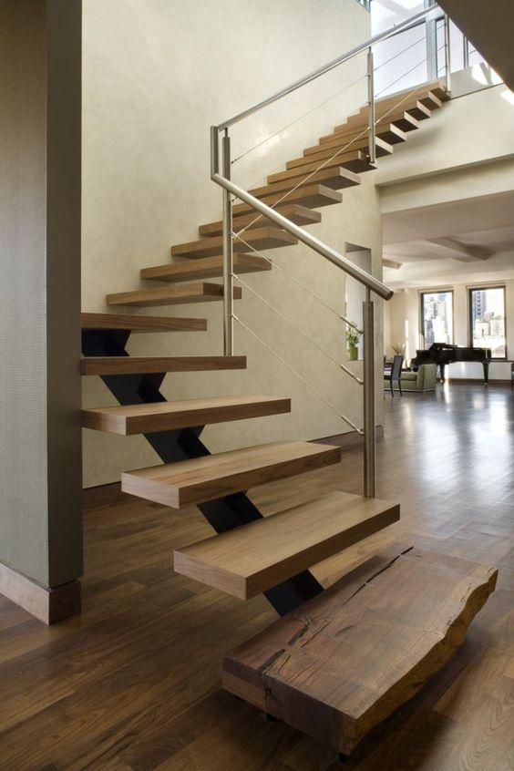 escaleras curvas