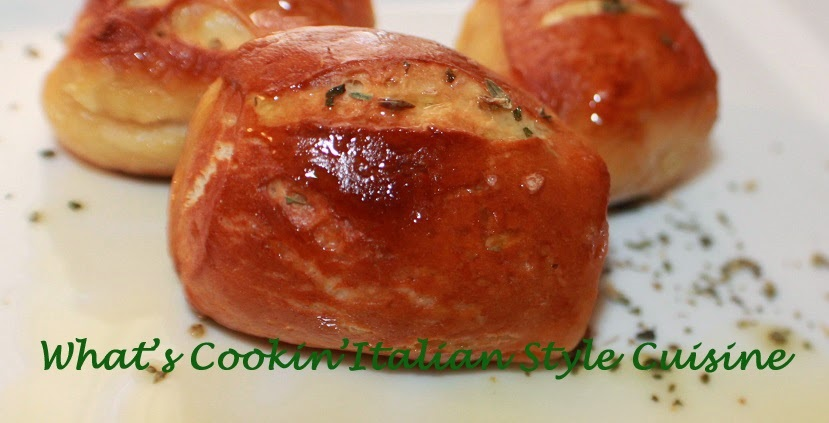Quick Soft Pretzel Bites with Herbs are  delicious soft pretzel bites that have been brushed with butter, garlic and herbs baked and so easy to make