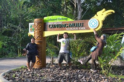 Papan Masuk ke Mulu National Park