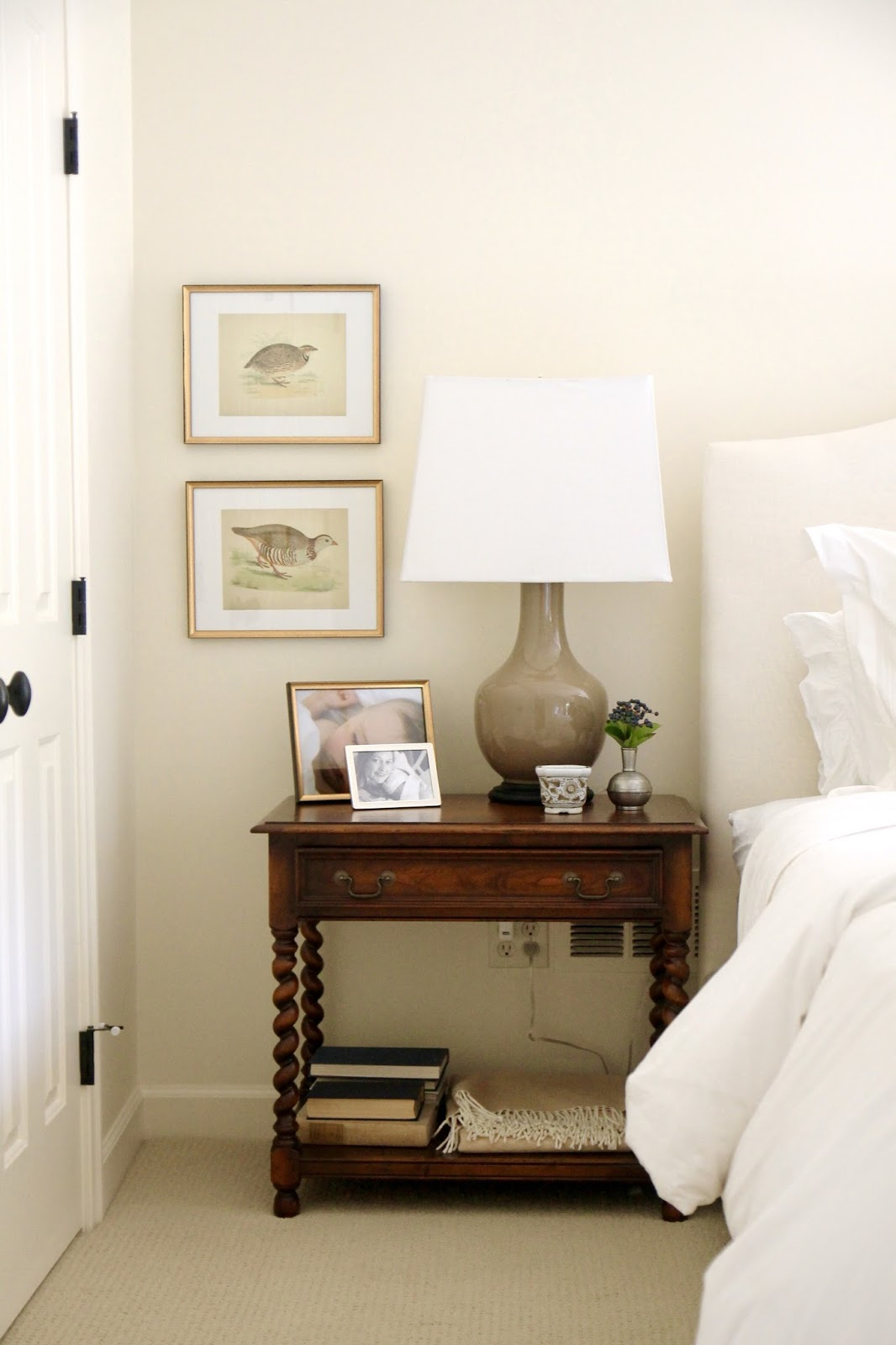 Because Our Room Is So Neutral, That Little Pillow Change With A Small Vase  Of A Seasonal Flowers On The Bedside Really Does Make Our Entire Room Feel  Fresh ...