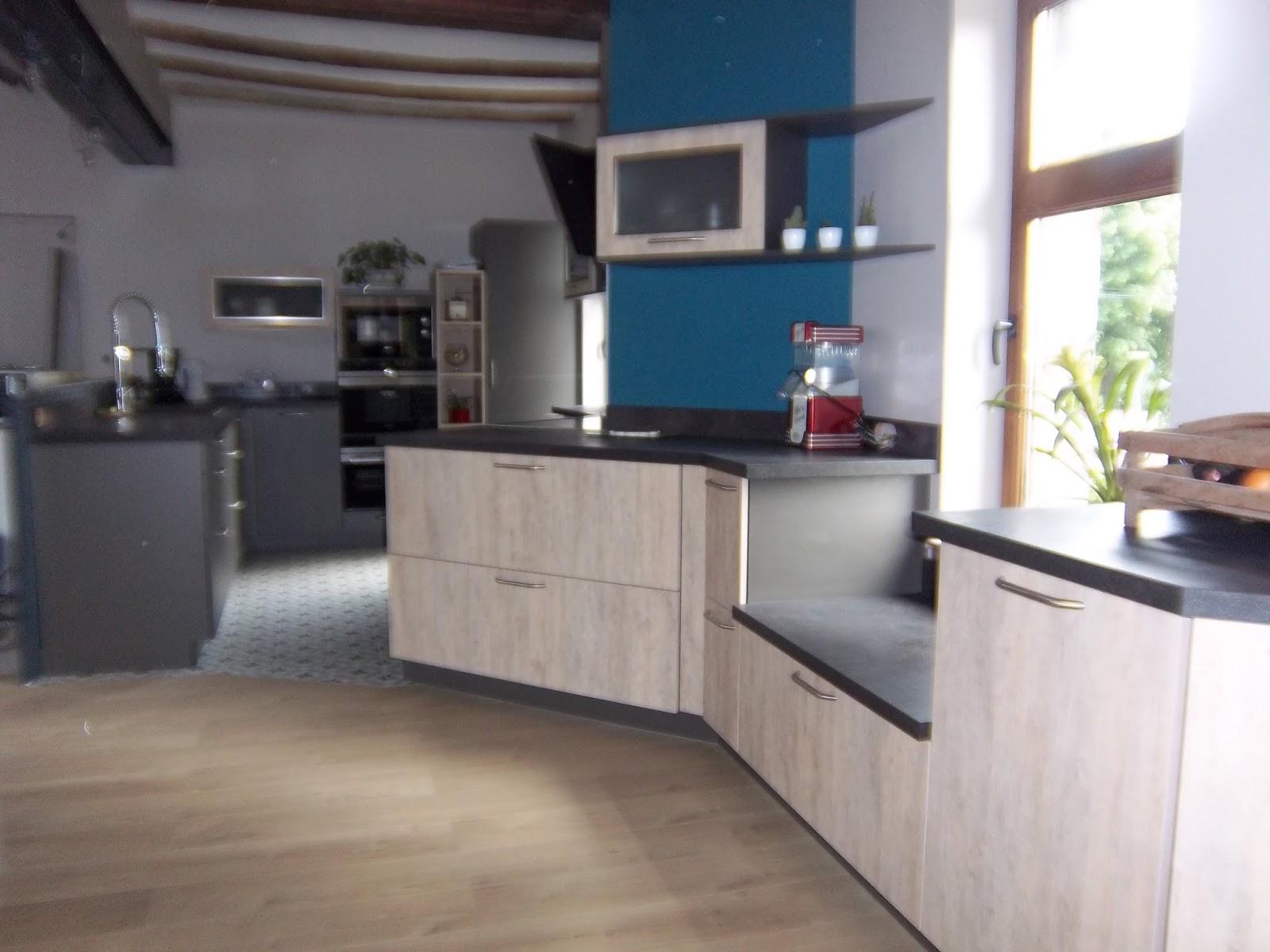 cuisine esprit loft industriel. Black Bedroom Furniture Sets. Home Design Ideas