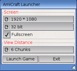 Minecraft for AmigaOS 4 1 Final Edition, AmiCraft – Distrita