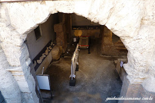 subterraneos praca navona estadio domiciano vista rua - Subterrâneos de Roma