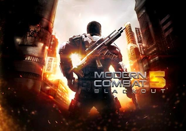 Modern Combat 5: Blackout, Now Available For Download