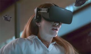 Oculus Rift headsets