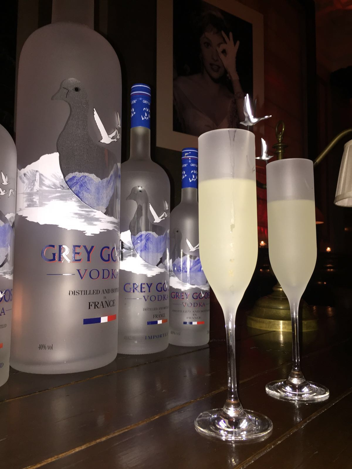 Grey Goose Le Fizz Cocktails and Grey Goose Magnums at the BAFTA's Harvey Weinstein Afterparty 2016