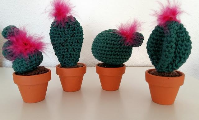 cactus tuto crochet deco amigurumi DIY