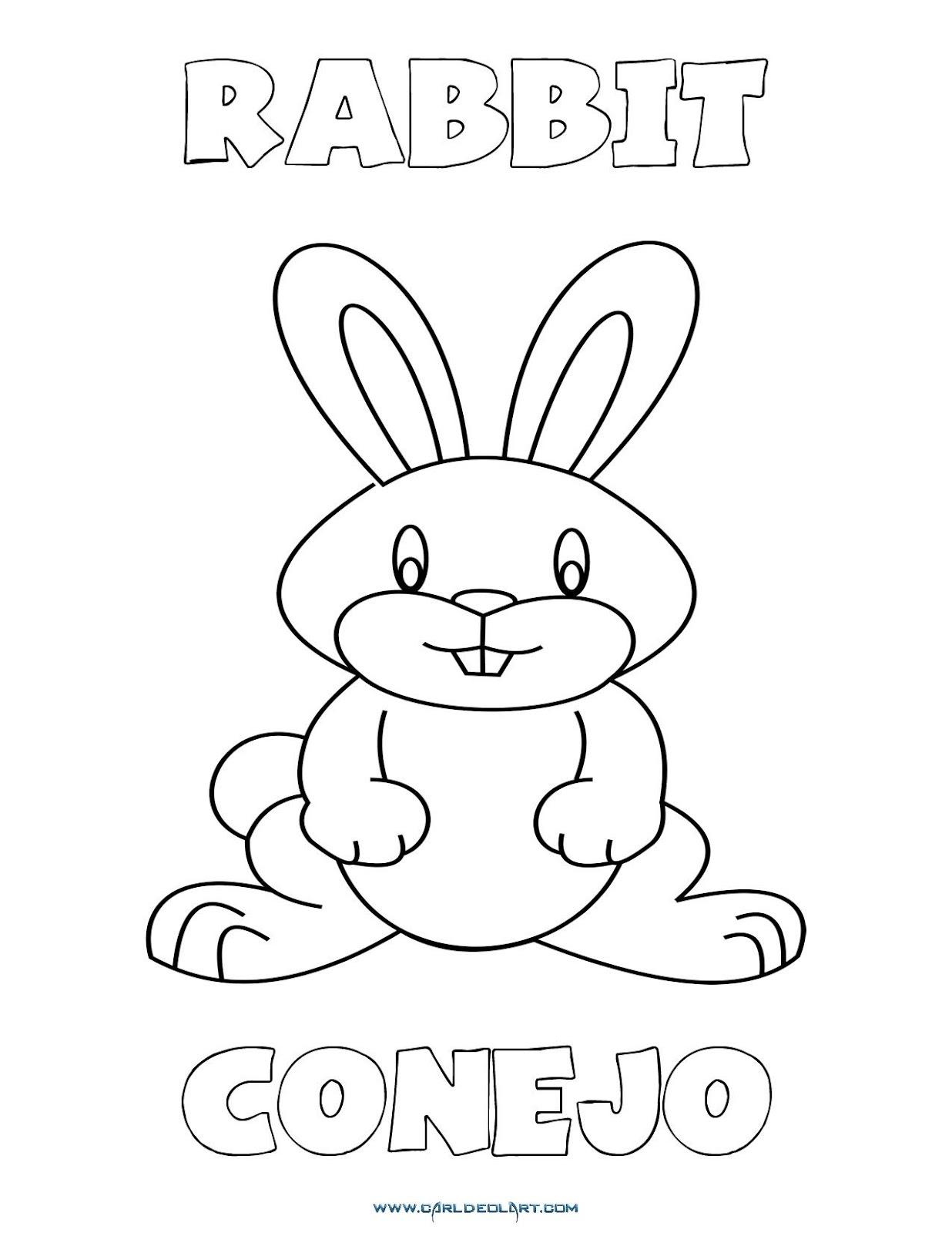 Dibujos Inglés - Español con \