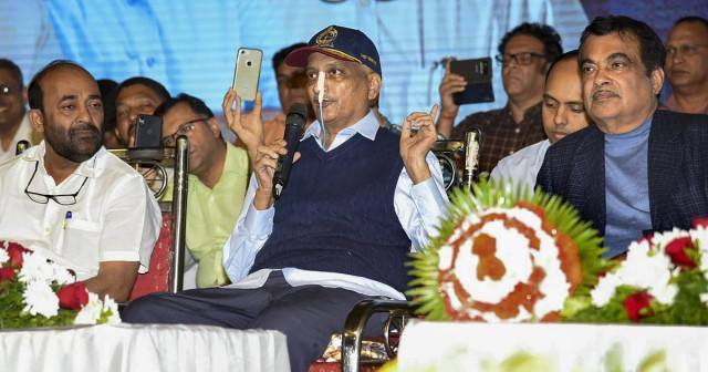 Photo Of Manohar Parrikar When He Was Suffering From Cancer