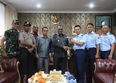 TNI AU Rencana Bangun Pangkalan di Wamena untuk Tol Udara