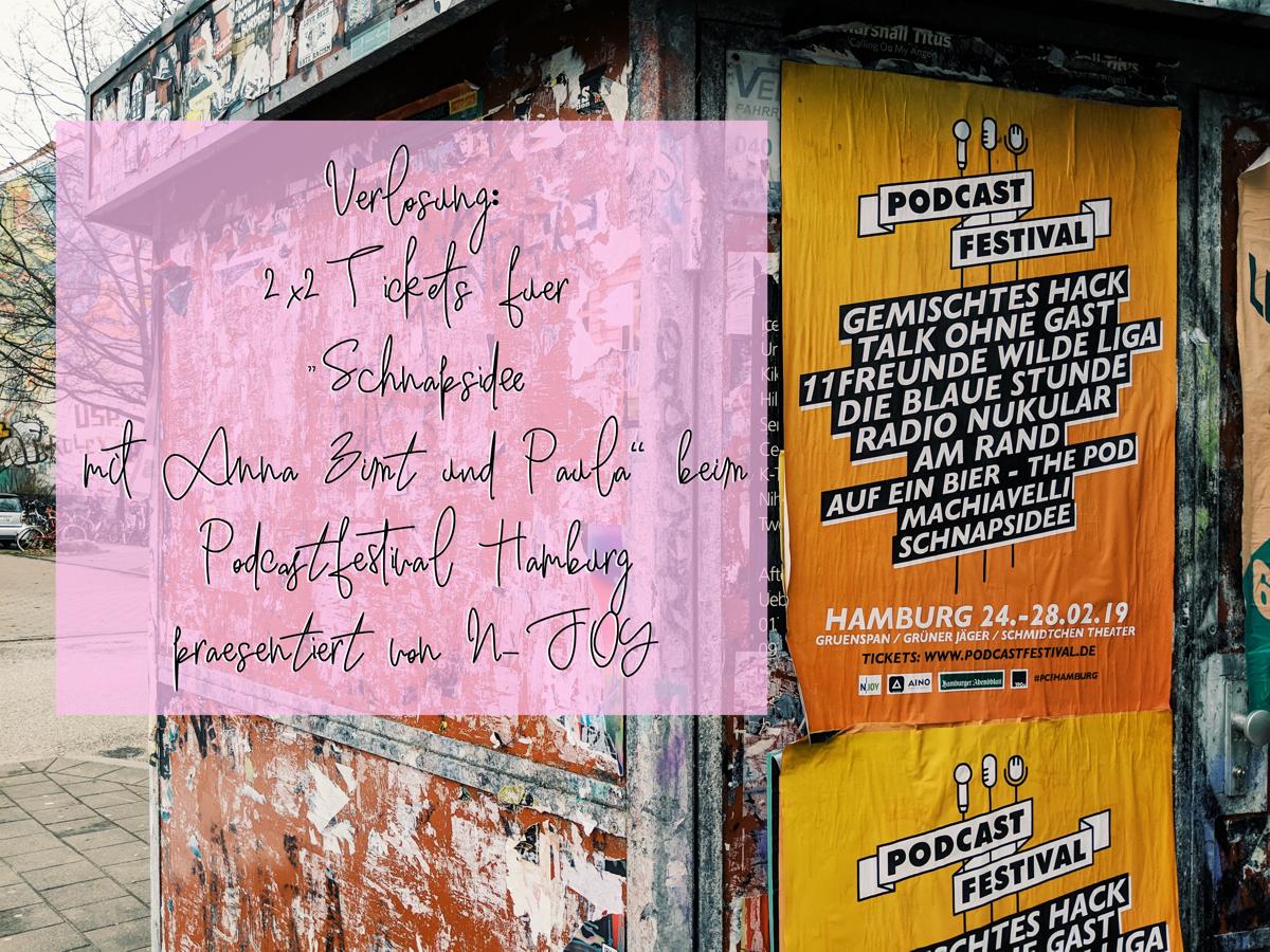 """Verlosung: 2x2 Tickets für """"Schnapsidee mit Anna Zimt und Paula"""" beim Podcastfestival Hamburg – präsentiert von N-JOY"""