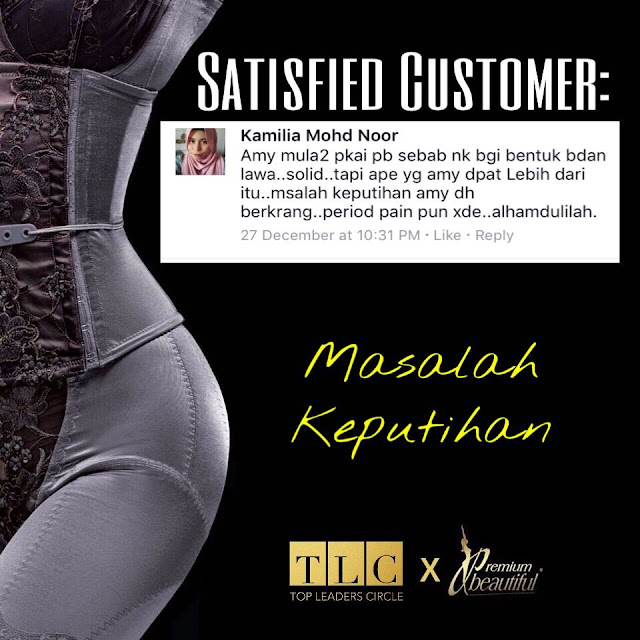 Testimoni Premium Beautiful Korset 2017