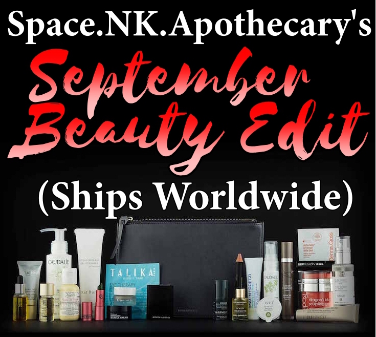 Space NK September Beauty Edits are two luxury gifts with purchase, containing a range of full-size and sample makeup and skincare.