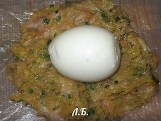 формирования котлет с яйцом