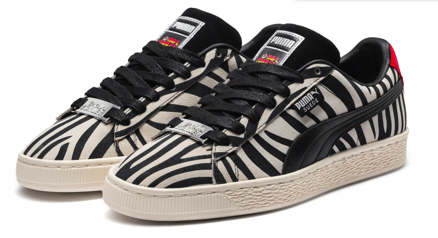 sale retailer c04c5 333e8 Rocked Out In Black And White: Puma X Paul Stanley Suede ...