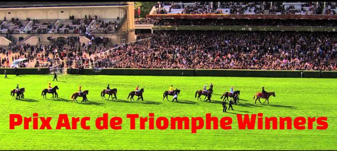 Prix de l'Arc de Triomphe , past, champions, winners, list,