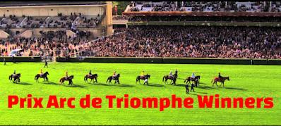 Prix de l'Arc de Triomphe , past, champions, winners, list, 1920-2019