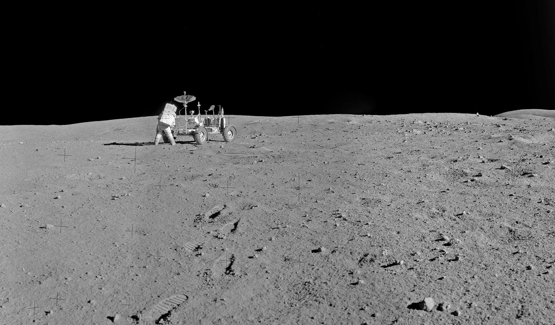 Аполло́н-16 Лунный ровер 6