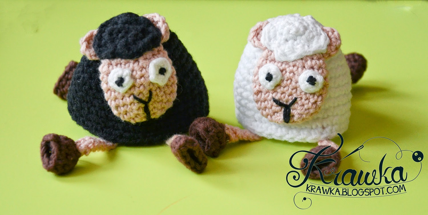 Sheep egg cozies - Free Pattern