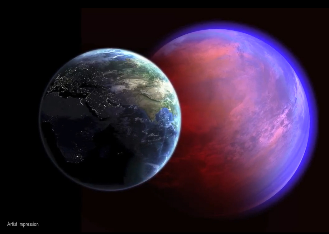 Links Through Space: Exoplanets: Super Earth - Super Hot ...