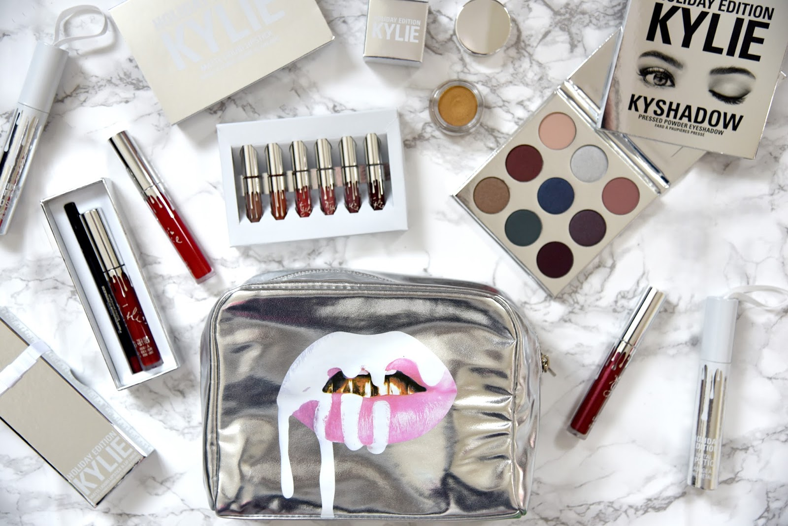 review kylie cosmetics holiday collection merry bundle