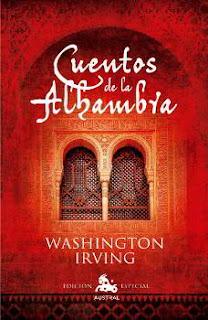 Portada del libro Cuentos de la Alhambra para descargar en pdf gratis