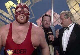 WWF / WWE SUMMERSLAM 1996 - Jim Cornette promised a victory for Vader in the WWF title match