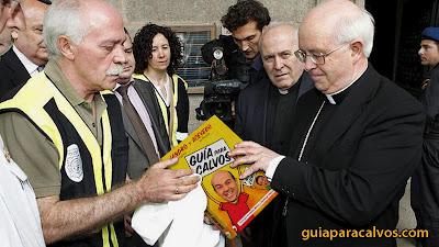 Obispo con el libro