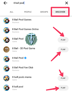 Messenger 8 ball games Game Pigeon