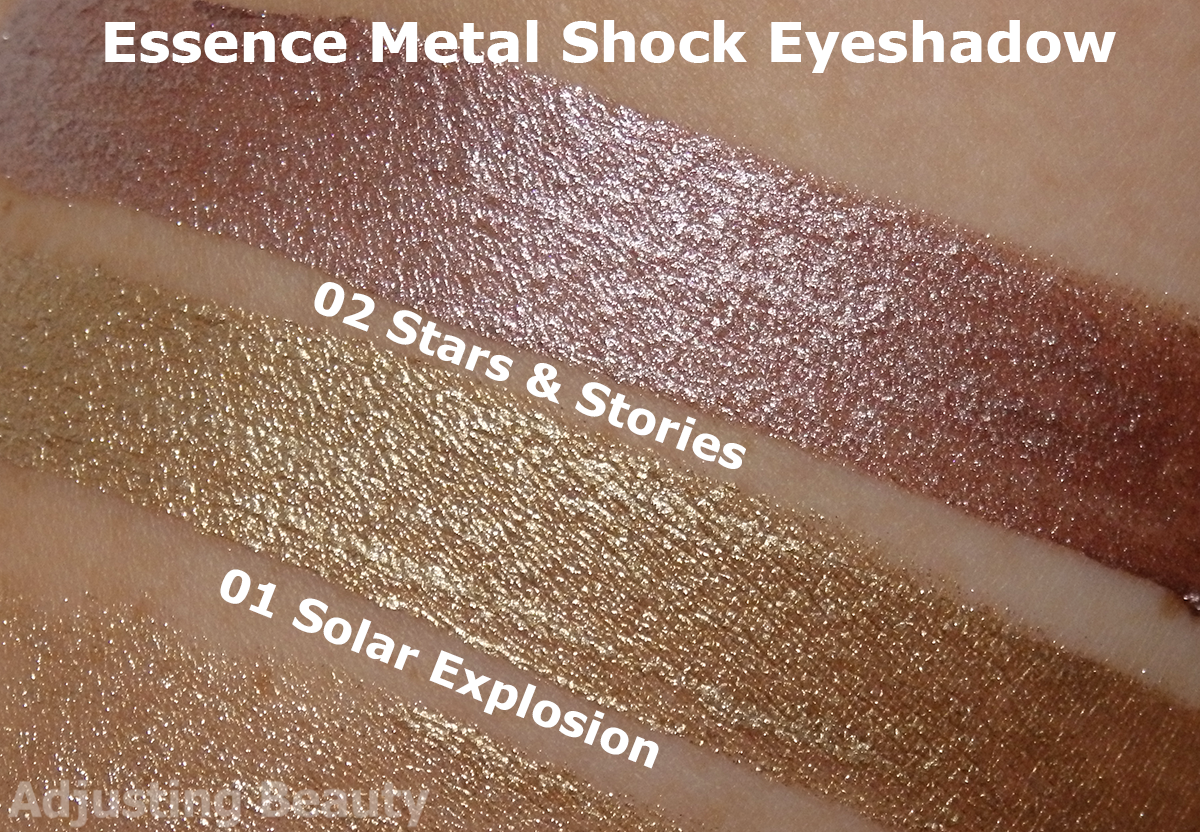 Essence Metal Shock Eyeshadow Solar Explosion