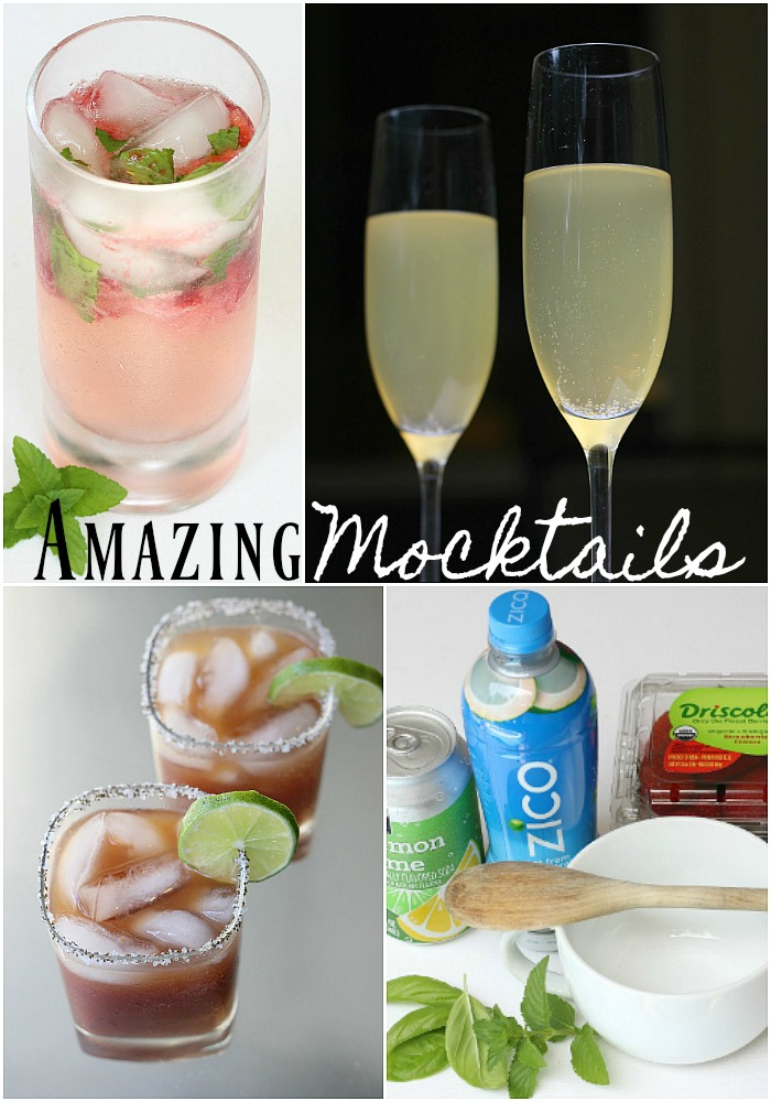 Alcohol free drinks and beverages perfect summer time drink recipes