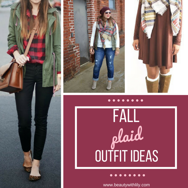 Fall Plaid Outfit Ideas