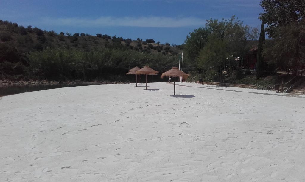 Areal da Praia Fluvial do Pego Fundo em Alcoutim