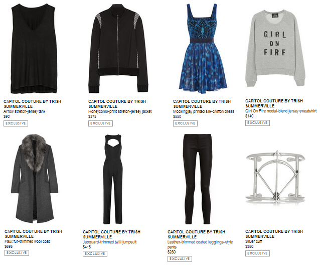 Catching fire victory tour outfits